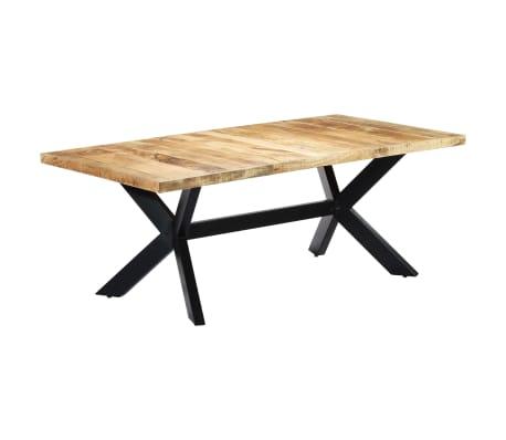 "vidaXL Dining Table 78.7""x39.4""x29.5"" Solid Mango Wood[10/11]"