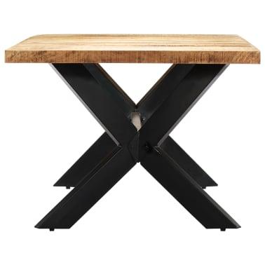 "vidaXL Dining Table 78.7""x39.4""x29.5"" Solid Mango Wood[3/11]"
