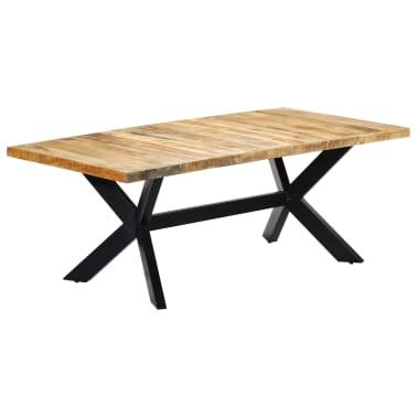 "vidaXL Dining Table 78.7""x39.4""x29.5"" Solid Mango Wood[9/11]"