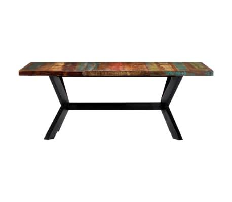 "vidaXL Dining Table 78.7""x39.4""x29.5"" Solid Reclaimed Wood[2/10]"