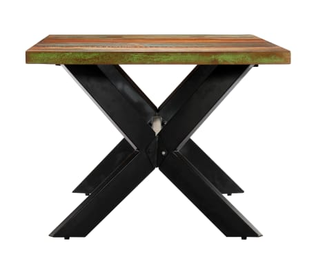 "vidaXL Dining Table 78.7""x39.4""x29.5"" Solid Reclaimed Wood[3/10]"