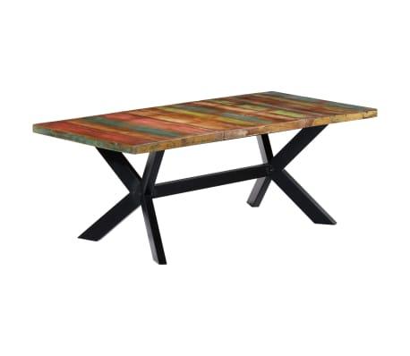 "vidaXL Dining Table 78.7""x39.4""x29.5"" Solid Reclaimed Wood[8/10]"