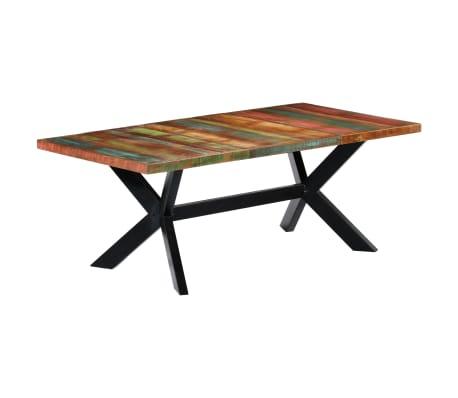 "vidaXL Dining Table 78.7""x39.4""x29.5"" Solid Reclaimed Wood[9/10]"
