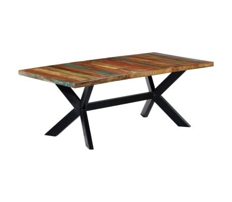 "vidaXL Dining Table 78.7""x39.4""x29.5"" Solid Reclaimed Wood[10/10]"