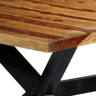 "vidaXL Dining Table 78.7""x39.4""x29.5"" Solid Sheesham Wood[5/10]"