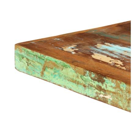 vidaXL Valgomojo stalas, 160x80x75cm, perdirbtos medienos masyvas[5/11]