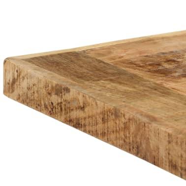 "vidaXL Dining Table 55.1""x27.6""x29.5"" Solid Rough Mango Wood[5/11]"
