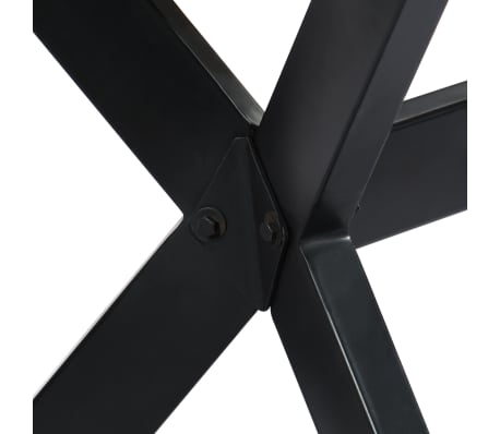 "vidaXL Dining Table 55.1""x27.6""x29.5"" Solid Sheesham Wood[4/11]"