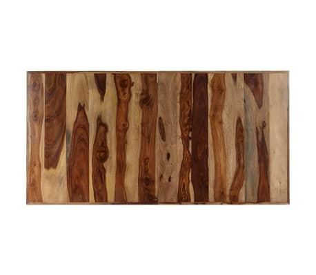 "vidaXL Dining Table 55.1""x27.6""x29.5"" Solid Sheesham Wood[5/11]"