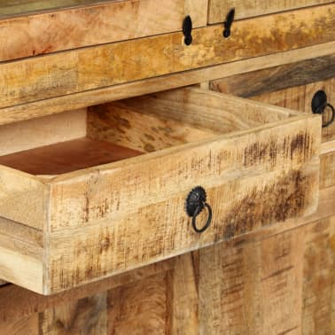 vidaXL Kredens, 100 x 40 x 175 cm, lite drewno mango[8/14]