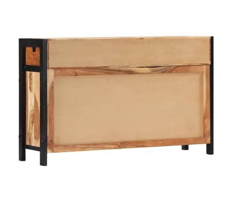 vidaXL Buffet 120x35x75 cm Bois d'acacia solide[4/13]