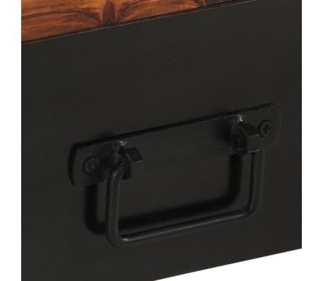 "vidaXL TV Cabinet 47.2""x11.8""x15.7"" Solid Sheesham Wood[6/11]"