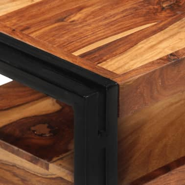 "vidaXL TV Cabinet 47.2""x11.8""x15.7"" Solid Sheesham Wood[5/11]"