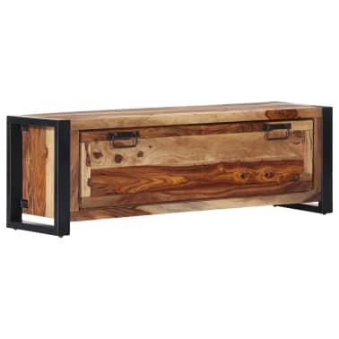 "vidaXL Shoe Cabinet 47.2""x13.8""x15.7"" Solid Sheesham Wood[1/11]"