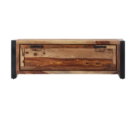 "vidaXL Shoe Cabinet 47.2""x13.8""x15.7"" Solid Sheesham Wood[2/11]"