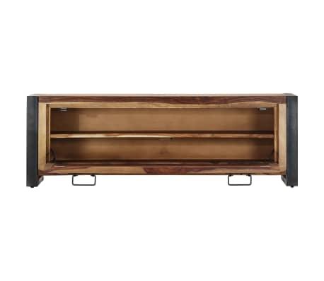 "vidaXL Shoe Cabinet 47.2""x13.8""x15.7"" Solid Sheesham Wood[3/11]"