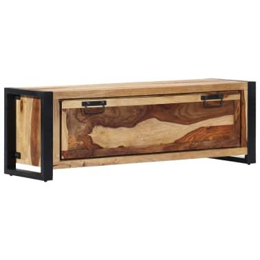 "vidaXL Shoe Cabinet 47.2""x13.8""x15.7"" Solid Sheesham Wood[11/11]"