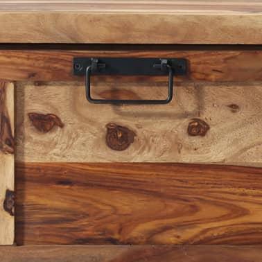 "vidaXL Shoe Cabinet 47.2""x13.8""x15.7"" Solid Sheesham Wood[5/11]"