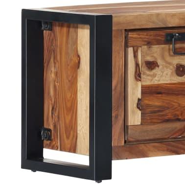 "vidaXL Shoe Cabinet 47.2""x13.8""x15.7"" Solid Sheesham Wood[6/11]"