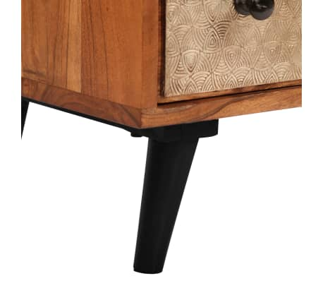 "vidaXL Chest of Drawers 23.6""x11.8""x29.5"" Solid Acacia Wood[5/13]"