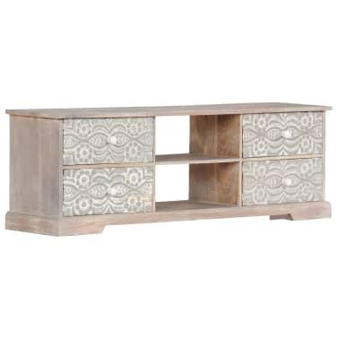 "vidaXL TV Cabinet 47.2""x11.8""x15.7"" Solid Acacia Wood[1/13]"