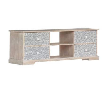 "vidaXL TV Cabinet 47.2""x11.8""x15.7"" Solid Acacia Wood[12/13]"