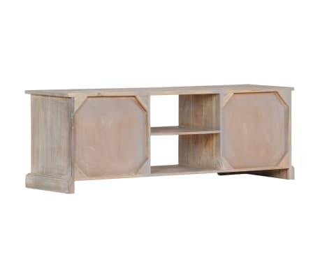 "vidaXL TV Cabinet 47.2""x11.8""x15.7"" Solid Acacia Wood[3/13]"