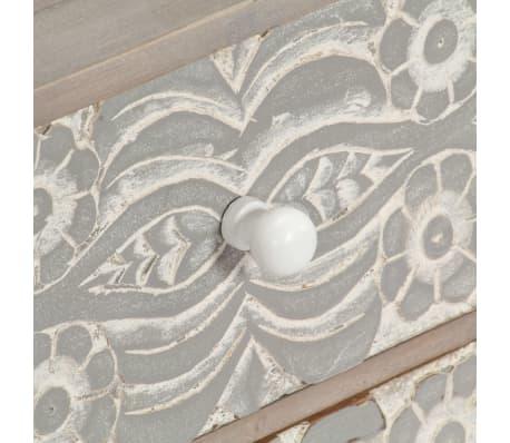 "vidaXL TV Cabinet 47.2""x11.8""x15.7"" Solid Acacia Wood[6/13]"