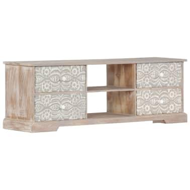 "vidaXL TV Cabinet 47.2""x11.8""x15.7"" Solid Acacia Wood[11/13]"
