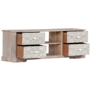 "vidaXL TV Cabinet 47.2""x11.8""x15.7"" Solid Acacia Wood[5/13]"