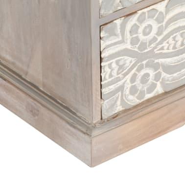 "vidaXL TV Cabinet 47.2""x11.8""x15.7"" Solid Acacia Wood[8/13]"