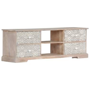 "vidaXL TV Cabinet 47.2""x11.8""x15.7"" Solid Acacia Wood[10/13]"