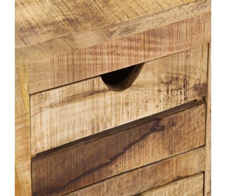 "vidaXL TV Cabinet 47.2""x11.8""x15.7"" Solid Mango Wood[7/14]"