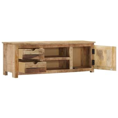 "vidaXL TV Cabinet 47.2""x11.8""x15.7"" Solid Mango Wood[3/14]"