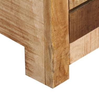 "vidaXL TV Cabinet 47.2""x11.8""x15.7"" Solid Mango Wood[8/14]"