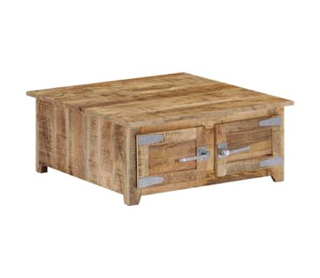 vidaXL Coffee Table 70x70x30 cm Solid Mango Wood
