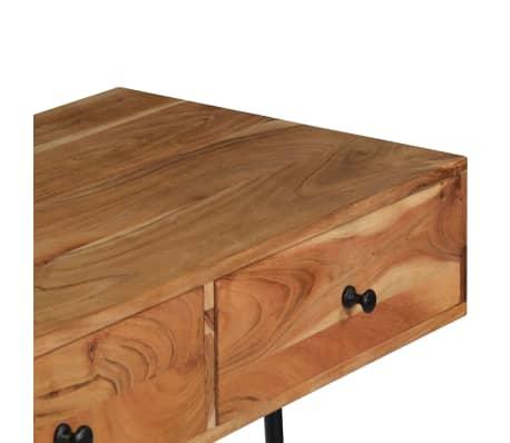 "vidaXL Wall Desk 35.4""x15.7""x66.9"" Solid Acacia Wood[4/11]"