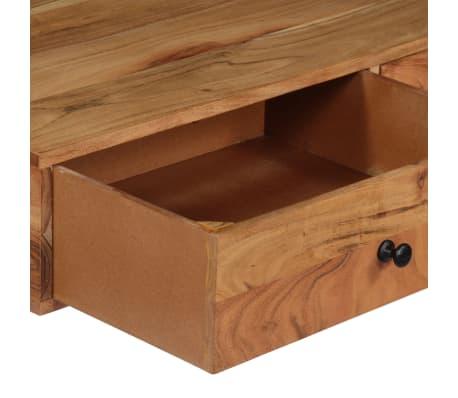 "vidaXL Wall Desk 35.4""x15.7""x66.9"" Solid Acacia Wood[5/11]"