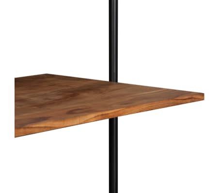 "vidaXL Wall Desk 35.4""x15.7""x66.9"" Solid Acacia Wood[6/11]"