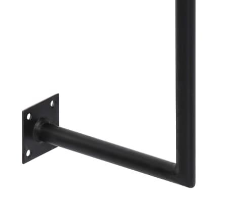 "vidaXL Wall Desk 35.4""x15.7""x66.9"" Solid Acacia Wood[7/11]"