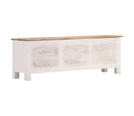 vidaXL Úložný box z akáciového dreva 120x30x40 cm