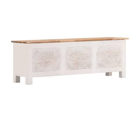 vidaXL Úložný box z akáciového dreva 120x30x40 cm[11/13]