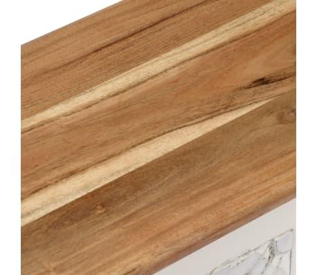 vidaXL Úložný box z akáciového dreva 120x30x40 cm[8/13]