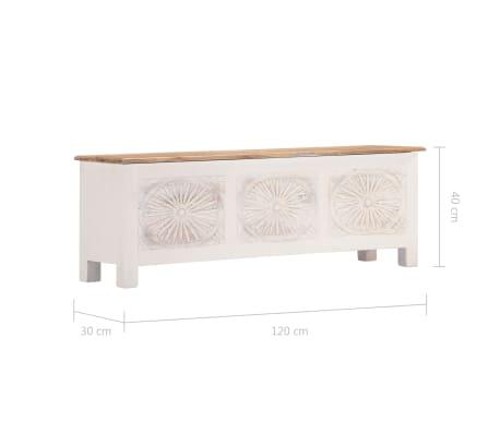 vidaXL Úložný box z akáciového dreva 120x30x40 cm[10/13]