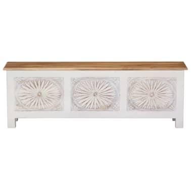vidaXL Úložný box z akáciového dreva 120x30x40 cm[2/13]