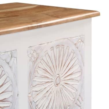 vidaXL Úložný box z akáciového dreva 120x30x40 cm[9/13]