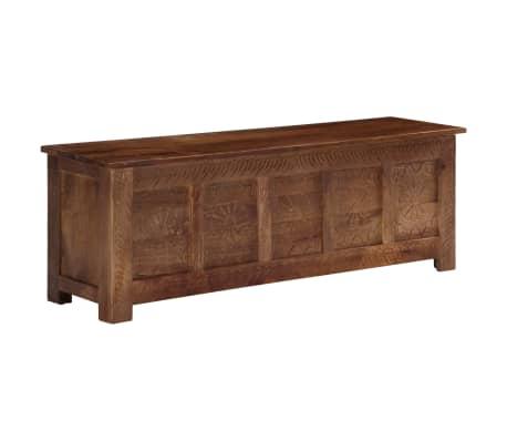 vidaXL Úložný box z mangovníkového dreva 120x30x40 cm[1/15]