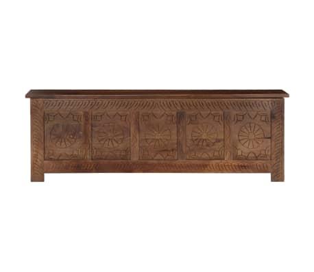 vidaXL Úložný box z mangovníkového dreva 120x30x40 cm[2/15]