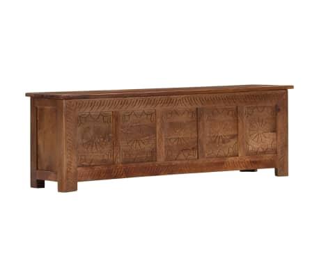 vidaXL Úložný box z mangovníkového dreva 120x30x40 cm[15/15]