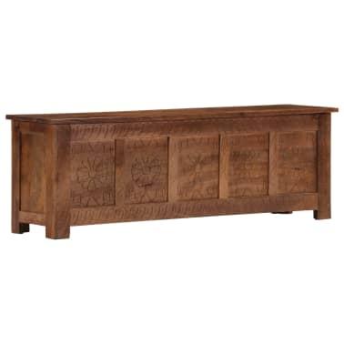 vidaXL Úložný box z mangovníkového dreva 120x30x40 cm[11/15]